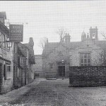 152a  Market Square Rose&Crown and school c1900       568