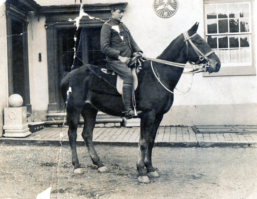 Fisher Archibald Rooke on Horse